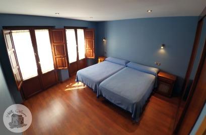 Casa Rural Villa Aurora Habitación azul 1