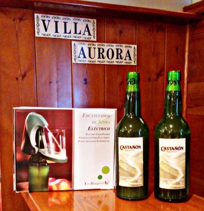 Casa Rural Villa Aurora Escanciador eléctrico