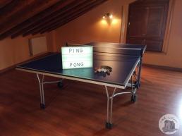 Casa Rural Villa Aurora Ping pong