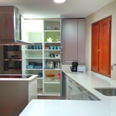 Casa Rural Villa Aurora menaje cocina