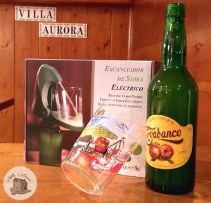 Casa Rural Villa Aurora escanciador