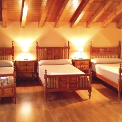 Casa Rural Villa Aurora 2planta camas
